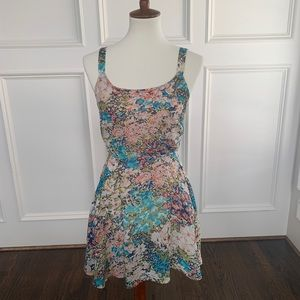 Lucca Couture flowy Mini Dress